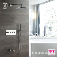 HIDEEP Bathroom Shower Termostática Rain Shower Faucet Set