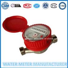 Латунный корпус, Тип сухого набора, Измеритель расхода воды
