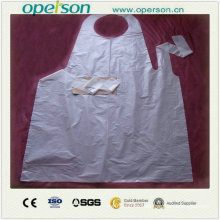 Disposable Waterproof and Dustproof Plastic Apron (OS5013)