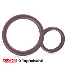 Personalizado FKM 75 marrón goma X / Quad anillo