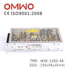 Wxe-120s-48 à sortie unique 120W 48V AC à courant continu