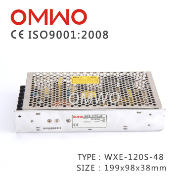 Wxe-120s-48 Single Output 120W 48V AC to DC Switching Power Supply