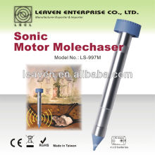 The most effective battery powered mole control mole repeller vole repeller