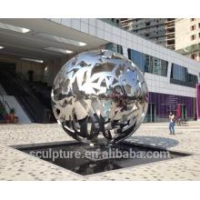 Abstracta escultura de acero escultura personalizada arte artesanía