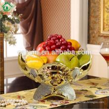 2015 Wholesale Price Decorative antique fancy ceramic Fruit Bowl