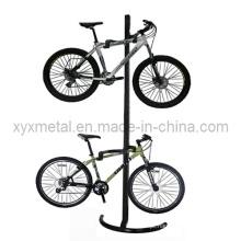 Bicicleta de montagem em parede com suporte de bicicleta