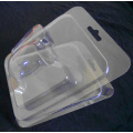 Clear Plastic PVC PET Clam shell Blister Packing Box (package)