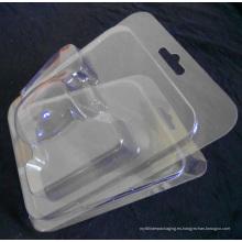 Caja de blíster de plástico transparente personalizado (hecho en China)