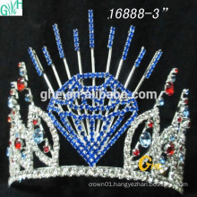 Fashion Bridal Crown Wholesale Pageant Crowns and Beautiful led crown