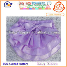 Wholesale Cool Bow Lovely Satin Cheap baby bloomers
