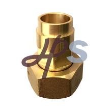 conector de soldadura de latón medidor de agua para tubo de cobre