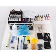 Newly listed professional tattoo supply kit 2 guns tattoo kits