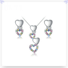 Alloy Jewelry Crystal Accessories Fashion Jewelry Set (AJS194)