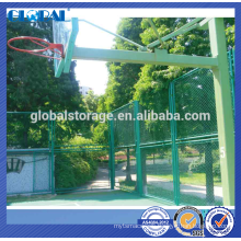 Expanded steel plate mesh fence/workshop isolated fence system
