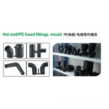 PE Hot Melt Pipe Fitting Mould with 2738 Steel