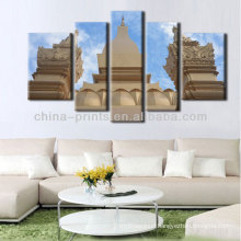 Modern Europe Building Landscape Oil Painting On Canvas