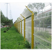 С ПВХ покрытием проволоки сетки забора/оцинкованная проволока Сетка заборная