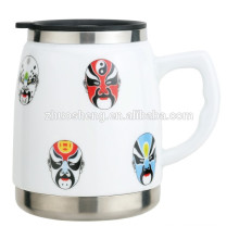 500ML Ceramic and Stainless Steel Mug