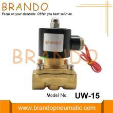 1/2 '' UW-15 Válvula Solenóide Elétrica a Gás com Óleo de Água