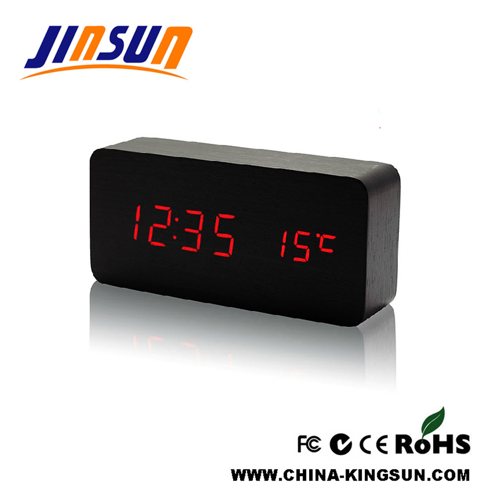 Led Temperature Clock