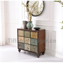 Living Room Side Cabinet antique Sideboard Cabinet 100% solid antique cabinet