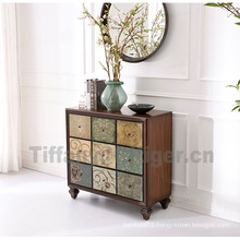 Living Room Side Cabinet antique Sideboard Cabinet 100% solid antique cabinet