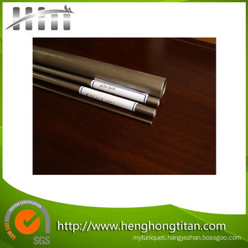 High Quality Competitive Price ASTM B338 Seamless Titanium Tube/Pipe for Heat Exchanger