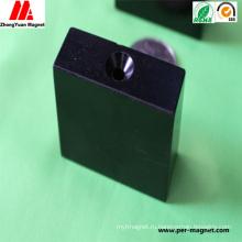 Специальный постоянный блок NdFeB неодимовый магнит в черной эпоксидной смоле