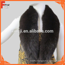Real Fox Fur Dyed Fur Collar
