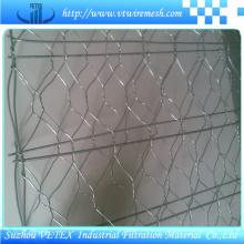 Fio de aço inoxidável Gabion Net