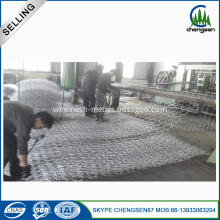Zinc Coated Gabion Box for Sea Walls