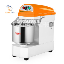 golden chef single phase 40 liter 15 kg double speed bread dough mixer croissant production line pita bread maker machine