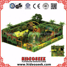 Small Jungle Theme Indoor Playground Equipment