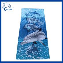 100% Cotton Shear Beach Towel (QHA5509)