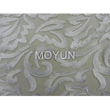 POLY MESH WITH SPECAIL CHEMICAl EMBROIDERY  50 52""