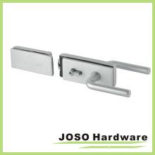 Kit de cerradura de puerta de cristal de fijación del hardware del cuarto de baño (GDL019A-3)