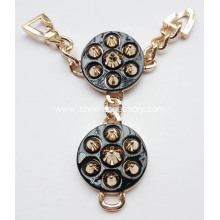 Women Sandal Chain with Rivet Style Design