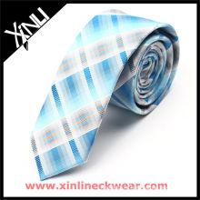 Профессиональная Конструкция OEM тощий галстук галстук шелк