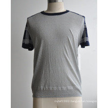 Summer Fashion Short Sleeve Man Sweater
