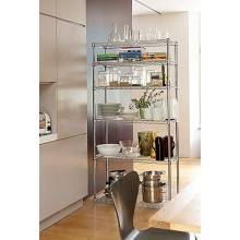 Commercial Restaurant and Hotel Kitchen Stainless Steel Shelving Rack