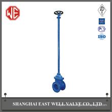 Spindle gate valve