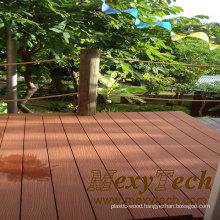 Maintenance Free Garden WPC Flooring with 10 Years Warranty