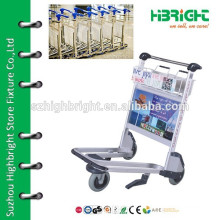 airport baggage trolley for passengers