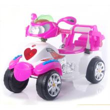Kids Ride en motocicleta, cuatro ruedas Mini moto eléctrica para niños