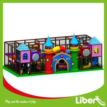 Natural children indoor playground equipment