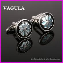 VAGULA Qualität Großhandel Blume Manschettenknöpfe (HL10141)