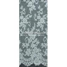 Фабрика оптовые мода Шантильи французский кружевной ткани для новобрачных CJ021C4B