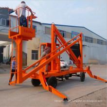 Elevador de lança articulado para elevação de 10m