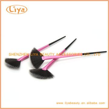 Hochwertige kosmetische Fan Brush Soem-Service