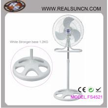 18 polegadas 2 em 1 ventilador industrial branco completo cor